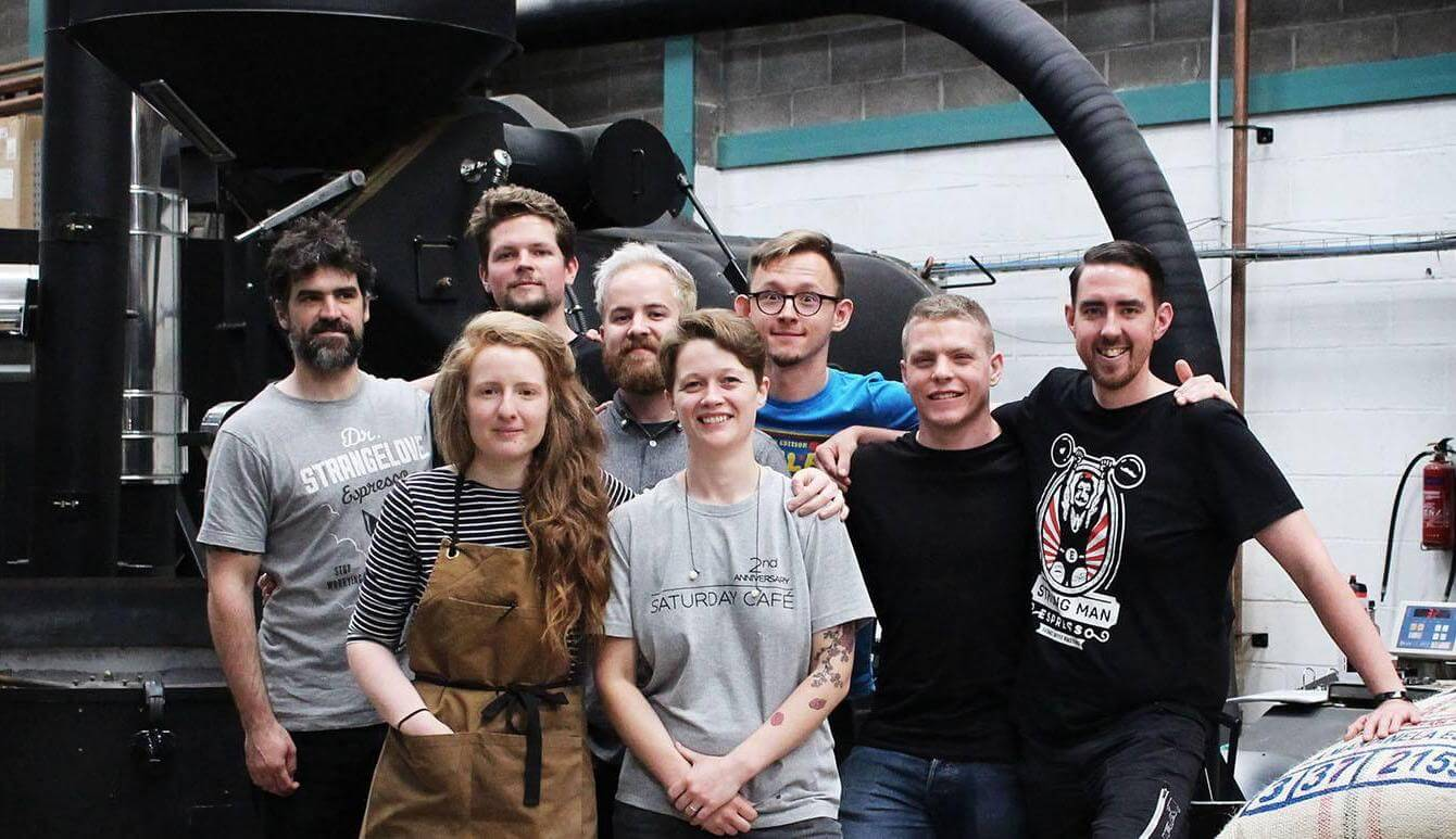 The Extract Coffee Roasters team.