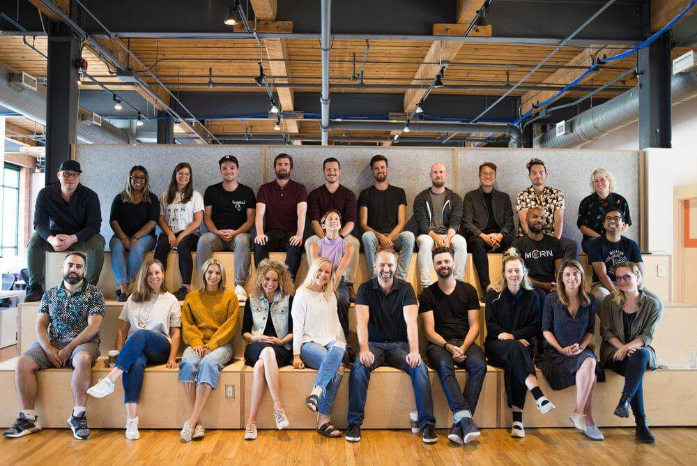 A photo of the Format staff.